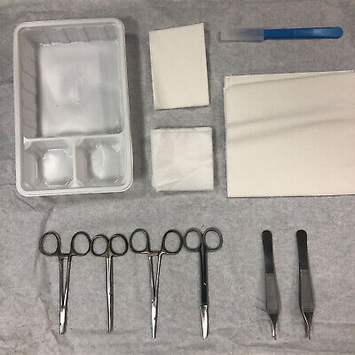 Unisurge Disposable Sterile Medical First Aid Surgical Biopsy Procedure Pack
