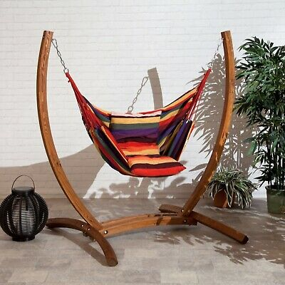 Hammock swing chair With Two Cushion  - Never Used. No Stand. Just Chair