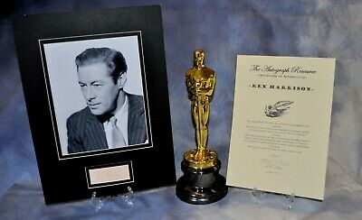 Rex Harrison  Certified Hand Signed autographed 8 X10 photo + COA