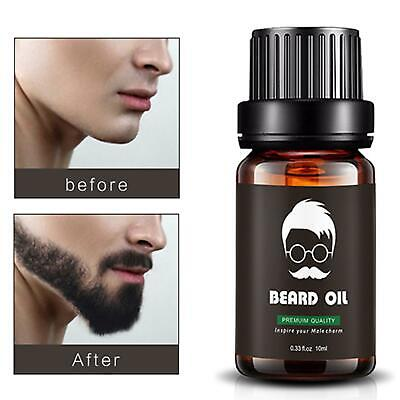 Premium Quality Growth Oil 100% Natural Essential Beard Mustache Eyebrow Oil