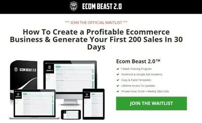 Ecom Beast 2.0 - Harry Coleman -  All 7 Video Modules + Resources $997 - FAST