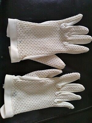 Ladies Vintage Gloves Size Small