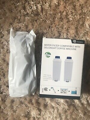 Coffee Machine Water Filter For Delonghi Type DLSC002 SER3017 One Only