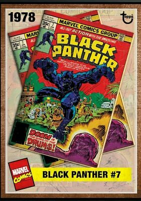 Topps Marvel Collect Card Trader Archives BLACK PANTHER #7  Digital Insert