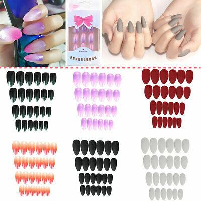 Extensions Self-Adhesive Fake Nail Stiletto Tips Manicure Tools False Nails