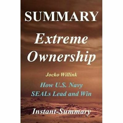 Summary Extreme Ownership Paperback Book da Cheap Fast & Free Delivery