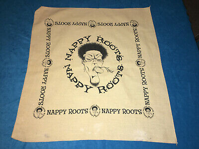 NAPPY ROOTS BANDANA Watermelon, Chicken and Gritz Promo Label Item