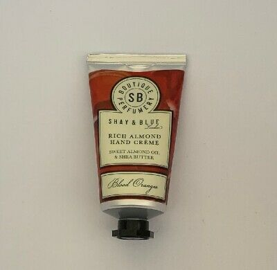 Shay And Blue Blood Oranges Hand Cream SEALED 40ml Creme Rich Almond