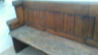 Old Church Pew Bench Traditional