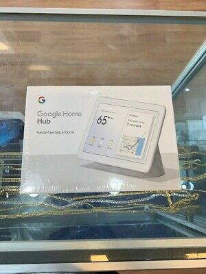 Brand New Google Home Hub with Google Assistant (Chalk) (GA00516-US)