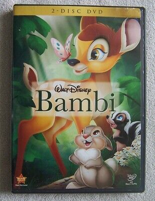 Bambi (DVD, 2011) 2-Disc Set  Full Screen Very Good Condition