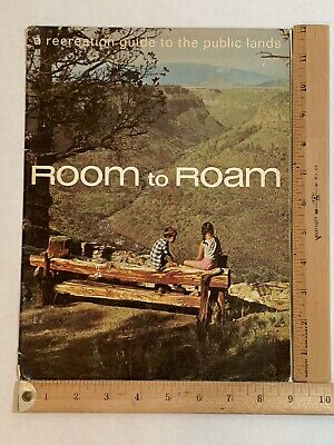 Room to Roam Western States Travel Guide Vintage Maps Public Lands 1968