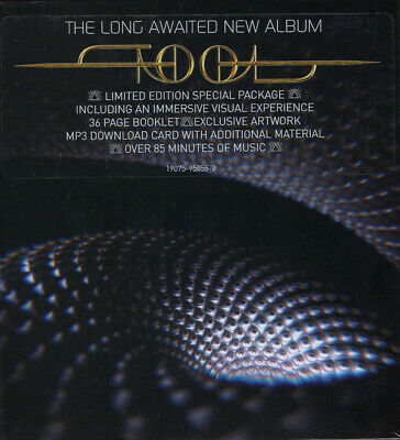 "Sealed New Tool Fear Inoculum Deluxe Limited Edition Cd + 4"" Hd Screen + Mp3"
