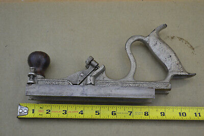 Vintage Stanley No. 48 Tongue And Groove Swing Fence Plane NO CUTTERS