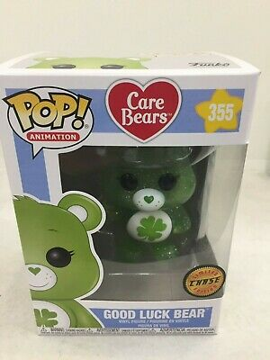 Care Bears #355 - Good Luck Bear CHASE - Funko Pop! Animation BRAND NEW