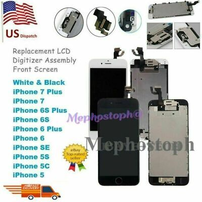 LCD Display For iPhone 5 5SE 6 6S+ 7 8 Plus Screen Replacement Full Assembly OEM