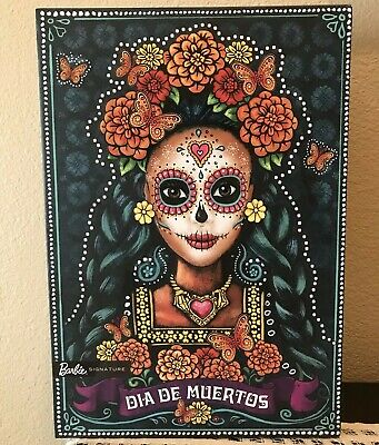 BARBIE DAY OF THE DEAD Dia De Los Muertos Doll Limited Edition IN HAND SHIPS NOW