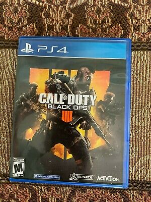 Call of Duty: Black Ops 4 (PlayStation 4, 2018) Pre-owned.