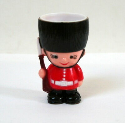 Coquetier vintage Garde royal anglais Welsh Guard