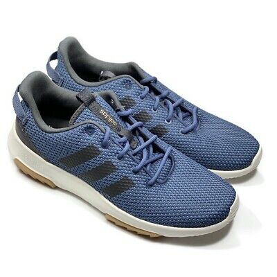 ADIDAS CLOUDFOAM RACER TR Black Men's Running Shoes Casual