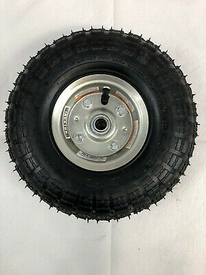 Ironton Knobby 4.10/3.50-4 Pneumatic Tire Wheel 300 Lb Max Load 56641