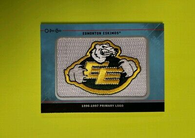 2015 Upper Deck Cfl O-Pee-Chee Logo Equipo Parches #TL35 Edmonton Esquimales