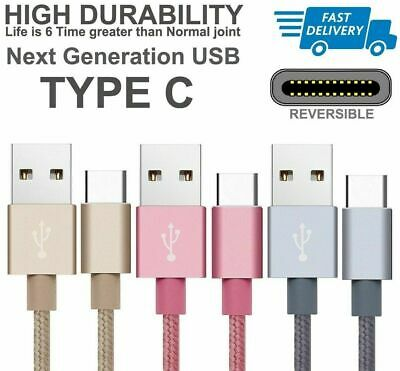 For Samsung A20 A40 A50 Type C Phone Charging USB-C Sync Fast Charger Data Cable
