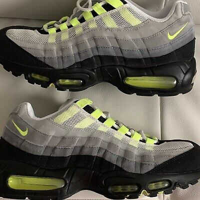 official store half price new styles VNDS NIKE AIR Max 95 Classic History of Air HOA Neon Yellow ...