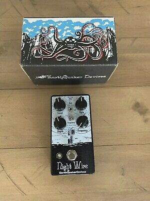 Used Earthquaker Devices Night Wire V2 Dynamic Harmonic Tremolo Guitar Pedal!