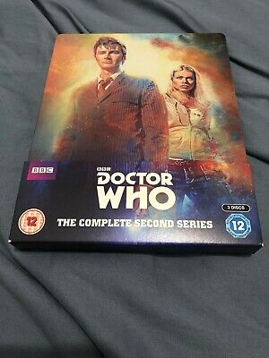 Doctor Who Blu-Ray Steelbook- The Complete Second Series- (3 Disc)
