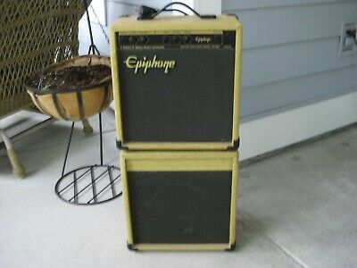 Epiphone EP-800 Guitar Amp with EXT cab. Mini Stack!!!