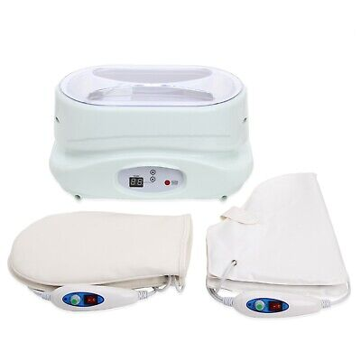 Paraffin Bath Wax Warmer Heater with Gloves and Wax-NEW OPEN BOX ITEM TLC-5010GW