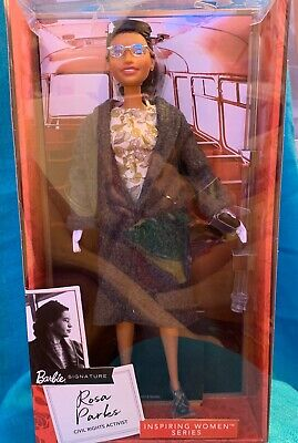 Barbie Rosa Parks Limited Edition Inspiring Women~IN HAND NOW &  READY TO SHIP!k