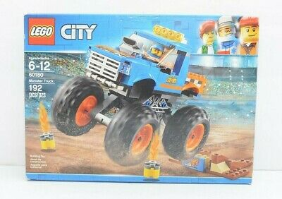 LEGO Monster Truck City 60180 Building Toy Set 192 Pieces New Sealed Bags
