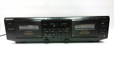 Sony TC-WE605S Stereo Cassette Deck Dual