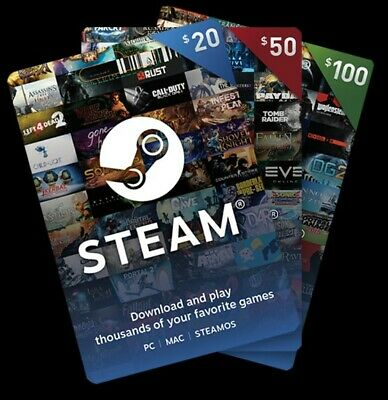 $250 Steam Gift Cards