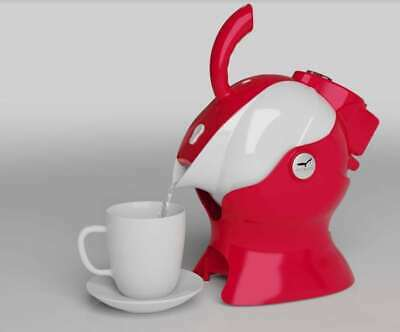 RED Uccello Kettle Tipper - Safe Tipping Kettle