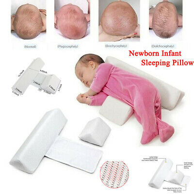 1Pcs Newborn Infant Sleep Pillow Adjustable Fast Width Anti-rollover For Baby US
