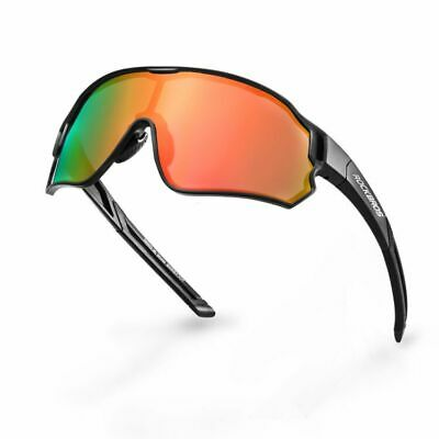 RockBros Polarized Cycling Glasses 100% UV400 Sunglasses Goggles Eyewear New