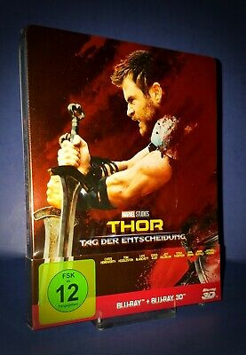 Thor Ragnarok German 3D Blu Ray Steelbook * 2 Disc Edition * Region Free *