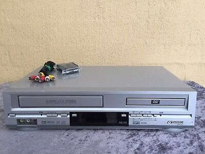 Serviced Sansui Combo VCR DVD player + Video Recorder No Remote VHS
