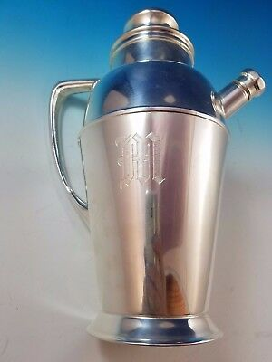 Silverplate Martini Pitcher Shaker by Apollo Bernard Rice's Sons #4339