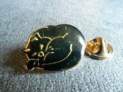 Rare Pins Pin's - Chat Noir - Black Cat - Animal - Superstition - Compagnie