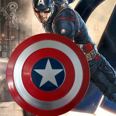47.5cm/18.7'' Avengers Captain America Shield Strong Metal Cosplay Prop Gift Kid