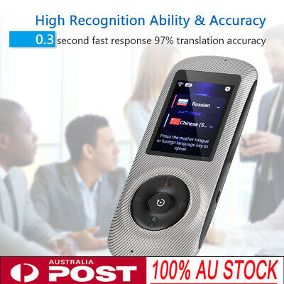 Smart Wireless Language Translator Device Real Time Voice Translation (Stripe)