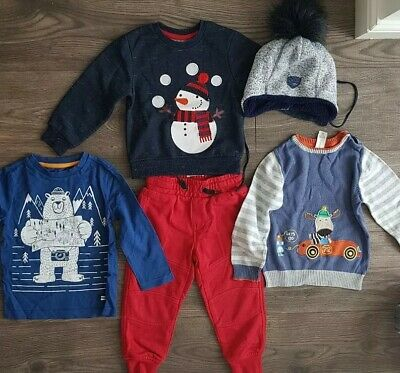 Winter Boys Clothes Bundle 18 - 24 Months