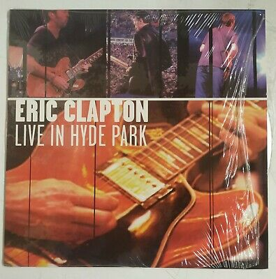 Eric Clapton Live In Hyde Park Laserdisc USA 1997