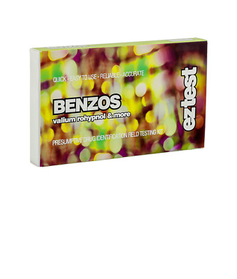Ez Test Kit For Benzo Pack Of 5