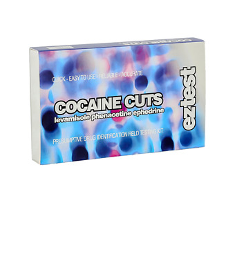 Ez Test Kit For Cocaine Cuts Pack Of 5