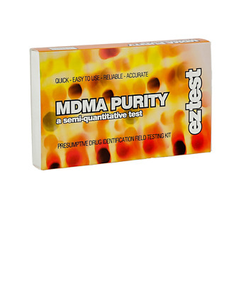 Ez Test Kit For Mdma Purity Pack Of 10